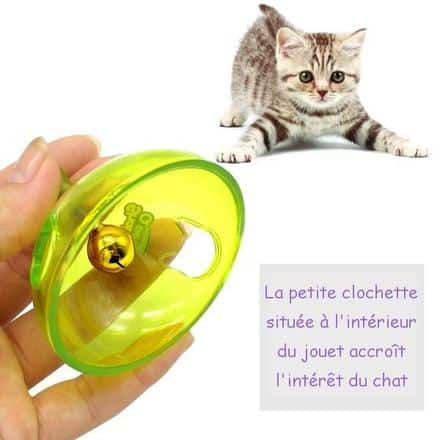 Distributeur de Croquettes ludique et intelligent - Shaking Q Pet