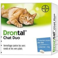 Vermifuge Drontal Chat Duo