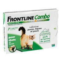 Frontline combo antiparasitaire chat