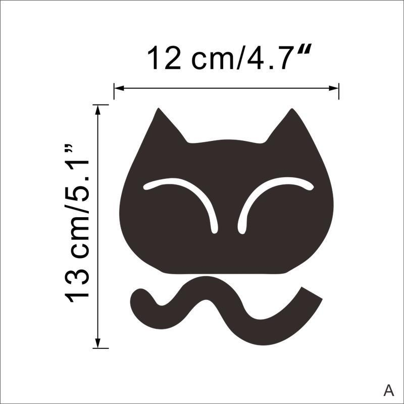 Sticker interrupteur chat taille 2