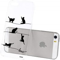 Coque chat pour smartphone