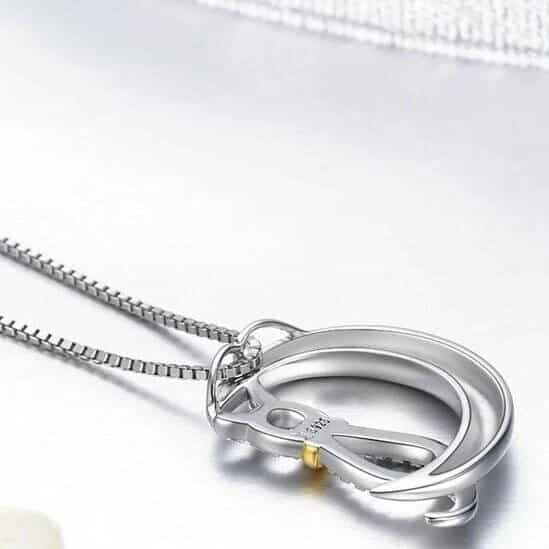 pendentif chat lune 3